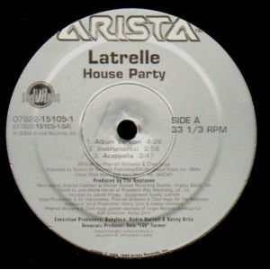 Latrelle - House party - 12''