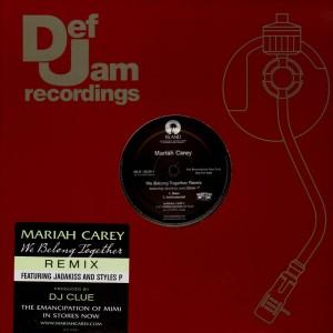 Mariah Carey - We belong together remix - 12''