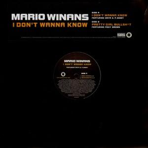 Mario Winans - I don't wanna know / Pretty girl bullshit - 12''