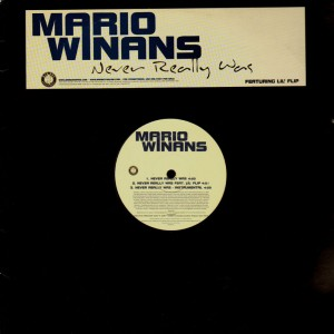 Mario Winans - Never really was / This is the thanks i get - 12''