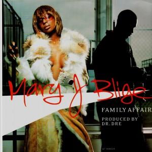 Mary J. Blige - Family affair - 12''