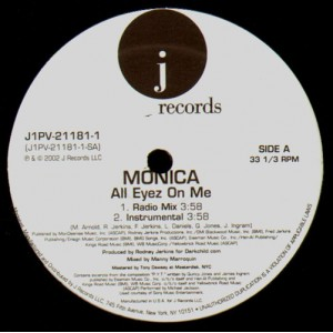 Monica - All eyes on me - 12''