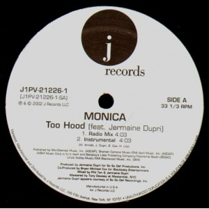 Monica - Too Hood - 12''