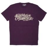 WESC T-shirt - Baseball Conspiracy - Purple Passion