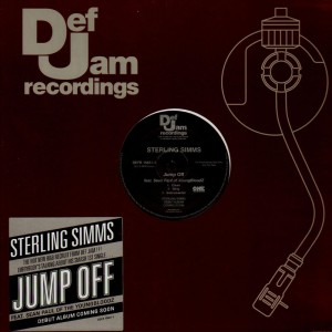 Sterling Simms - Jump Off - promo 12''