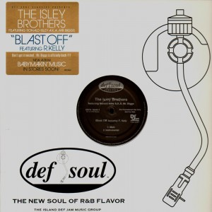 The Isley Brothers - Blast off - promo 12''