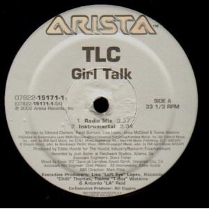 TLC - Girl talk - 12''