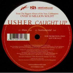 Usher  - Caught up / remix - promo 12''