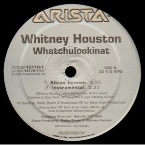 Whitney Houston - Whatchulookinat - 12''