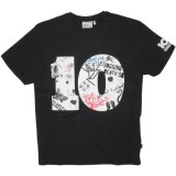 WESC T-shirt - 10 Years Of Graphics - Black