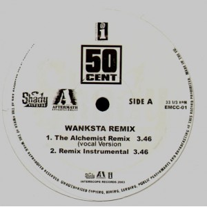 50 Cent - Wanksta remix - 12''