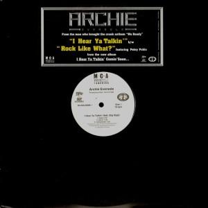 Archie Eversole - I hear ya talkin / Rock like what? - promo 12''