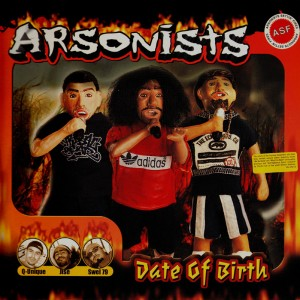 Arsonists Date Of Birth 2lp Temple Of Deejays