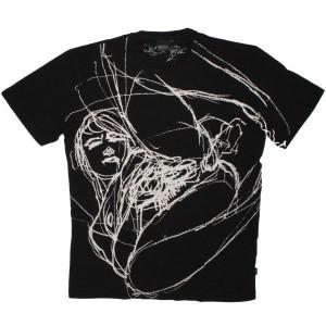 WESC T-shirt - Dans Son Petit Chez Soi - Black