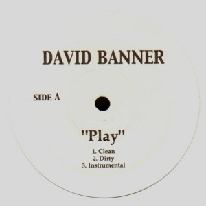 David Banner - Play / Westside - 12''
