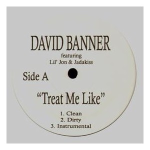 David Banner - Threat me like / My gun / Bout your money - 12''
