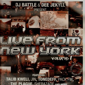 Dj Battle & Dee Jekyll - Live from New York vol.1 - Vinyl EP