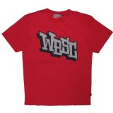 WESC T-shirt - Wesc Comic - Vampire Red