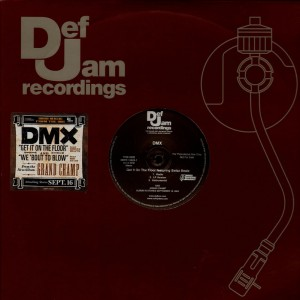 DMX - Get it on the floor / We'bout to blow - promo 12''