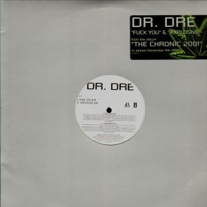 Dr.Dre - Fuck you / Xxplosive - promo 12''