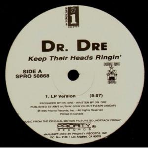 Dr.Dre - Keep their head ringin' - 12''
