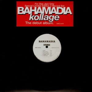 Bahamadia - Kollage (the debut album) - promo 2LP