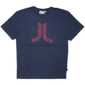 WESC T-shirt - Logos In Icon - Medium Blue