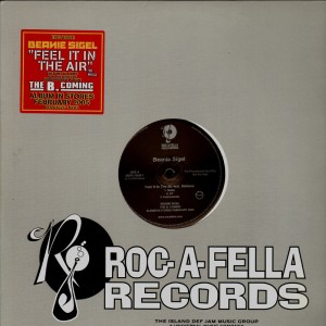Beanie Sigel - Feel it in the air - promo 12''