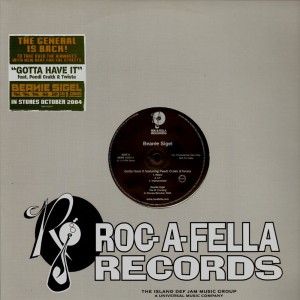 Beanie Sigel - Gotta have it - promo 12''
