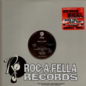 Beanie Sigel - When you heard that - promo 12''