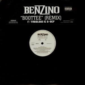 Benzino - Boottee remix - promo 12''