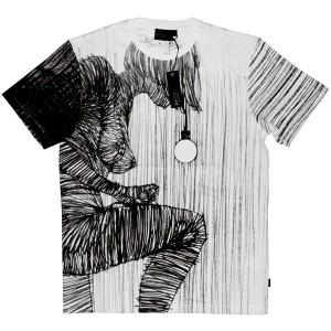WESC T-shirt - Porte-Jartelles - White
