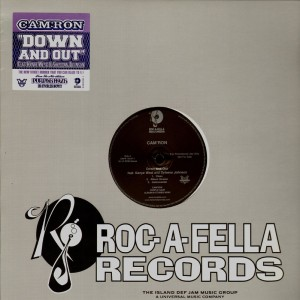 Cam'Ron - Down and out - promo 12''