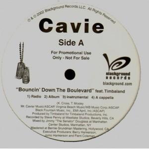 Cavie - Boucin' down the boulevard / Dr. Kevorkian - promo 12''