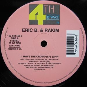 Eric B. & Rakim - Paid in full / Eric B. is on the cut - 12''