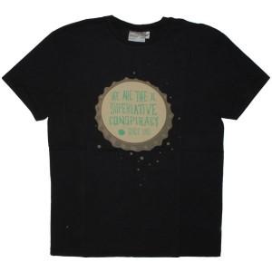 WESC T-shirt - Bottle Cap Men's - Black
