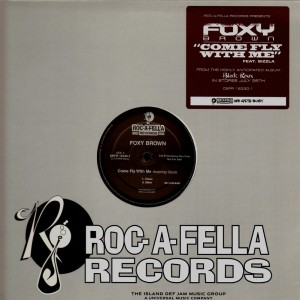 Foxy Brown - Come fly with me - promo 12''