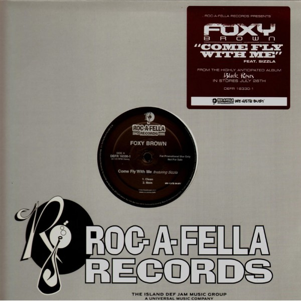 Foxy Brown Come Fly With Me Promo 12 Temple Of Deejays