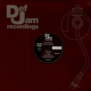 Foxy Brown - I need a man - 12''