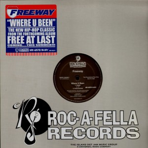 Freeway - Where u been - promo 12''