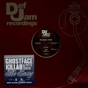 Ghostface Killah - Be easy - promo 12''