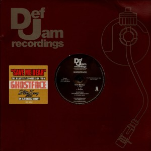 Ghostface Killah - Save me dear / Tooken back - promo 12''