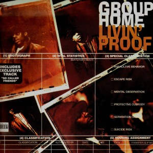 Group Home - Livin'proof - 2LP