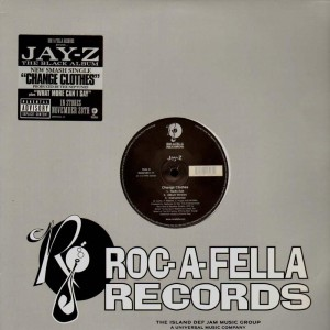 Jay-Z - Change Clothes / What more can i say - 12''