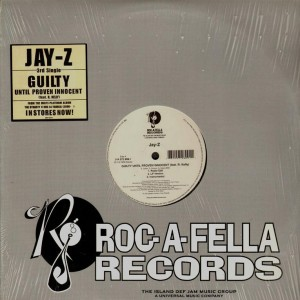 Jay-Z - Guilty until proven innocent / 1-900-Hustler - 12''