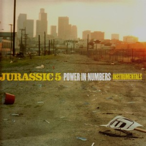 Jurassic 5  - Power in numbers (instrumentals) - 2LP