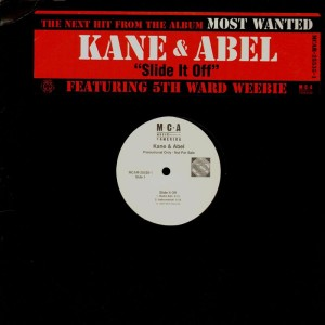 Kane & Abel - Slide it off - promo 12''