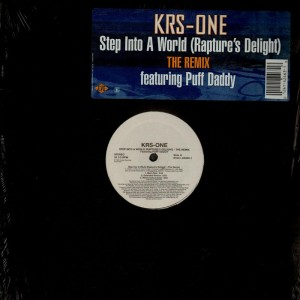 KRS-One - Step into a world (rapture's delight) remix - 12''