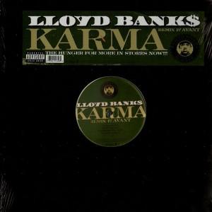 Lloyd Bank$ - Karma remix - 12''