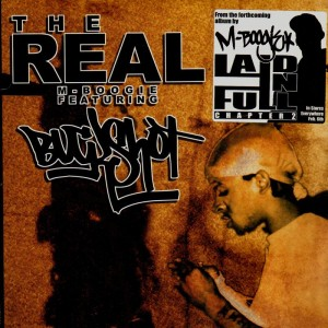 M-Boogie - The real (feat. Buckshot) - 12''